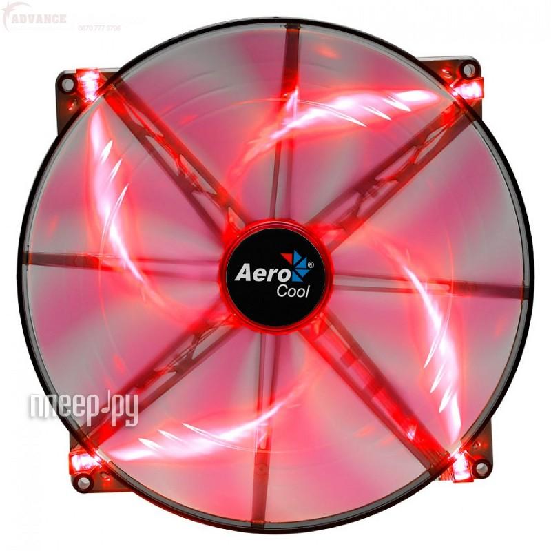 Вентилятор AeroCool Silent Master Red LED 200mm EN55659  Pleer.ru  366.000