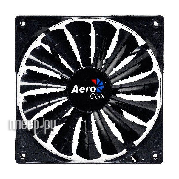 Вентилятор AeroCool Shark Fan Black Edition 120mm EN55413