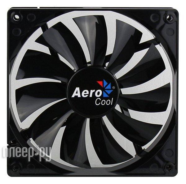Вентилятор AeroCool Dark Force Black 140mm 4713105951349  Pleer.ru  155.000
