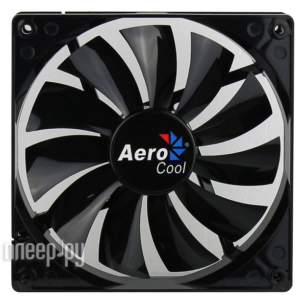 Вентилятор AeroCool Dark Force Black 120mm 4713105951332
