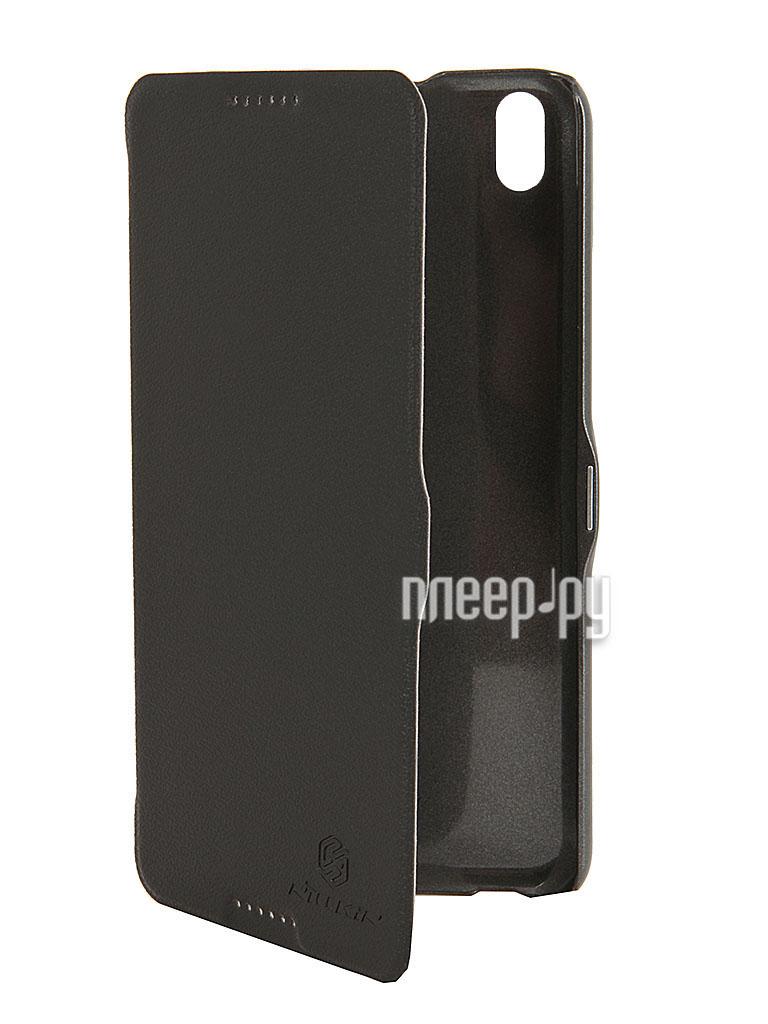 Аксессуар Чехол HTC Desire 816 Nillkin Fresh series Leather Case Black T-N-HD816-001  Pleer.ru  1199.000