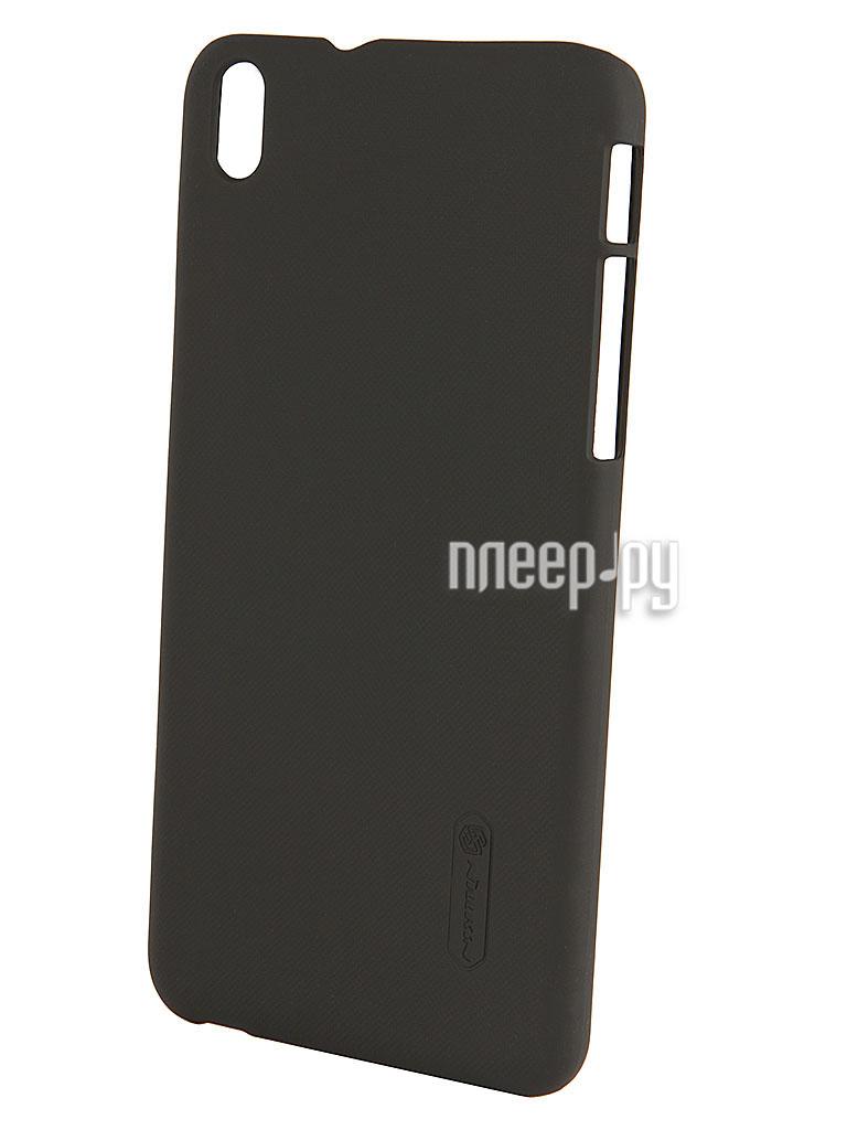 Аксессуар Чехол-накладка HTC Desire 816 Nillkin Super Frosted Shield Black T-N-H816-002  Pleer.ru  1101.000