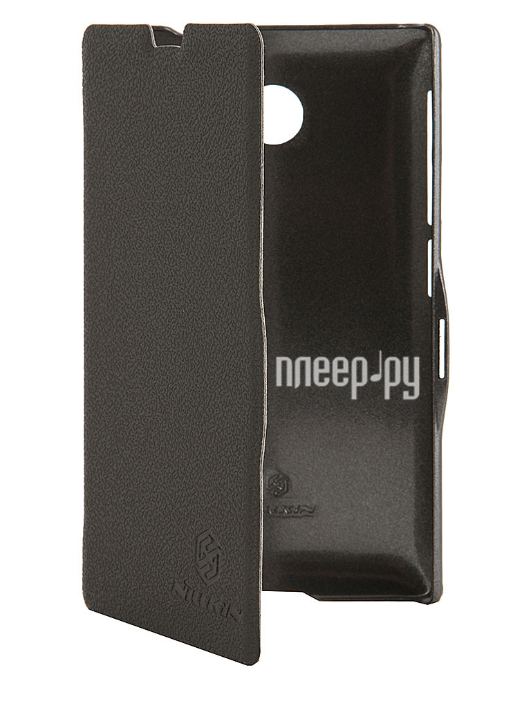 Аксессуар Чехол Nokia X Nillkin Fresh Series Leather Case Black T-N-NX-001  Pleer.ru  1197.000