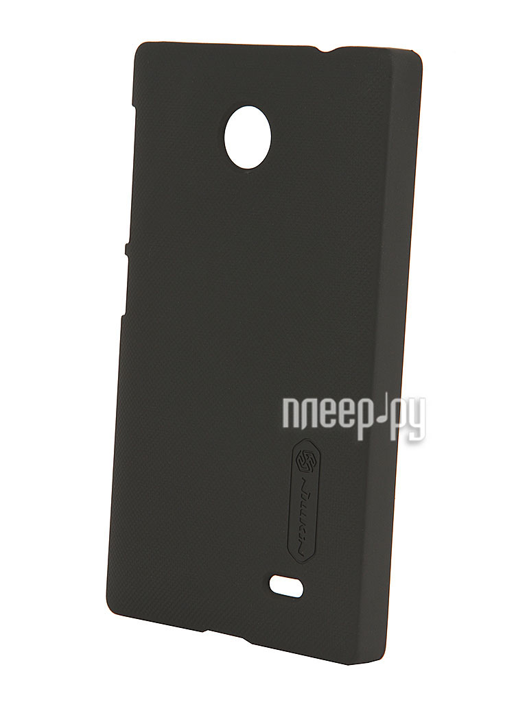Аксессуар Чехол-накладка Nokia X Nillkin Super Frosted Shield Black T-N-NX-002  Pleer.ru  300.000