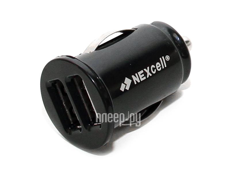Зарядное устройство NEXcell 2xUSB 2100/1000mA CC22A-101