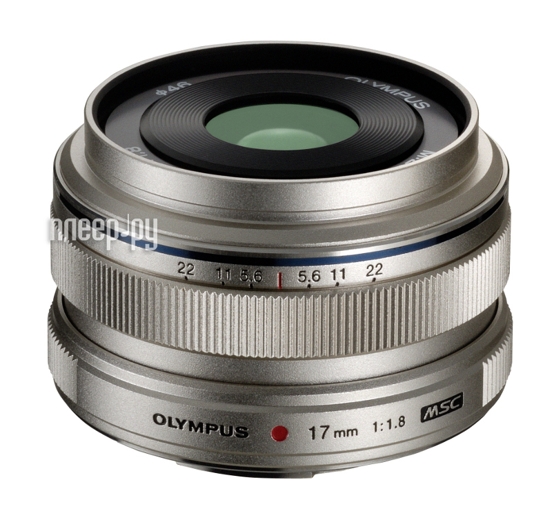 Объектив Olympus M.Zuiko Digital 17 mm f/1.8 for PEN*  Pleer.ru  18642.000