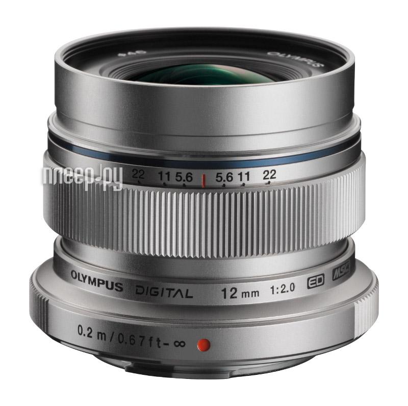 Объектив Olympus M.Zuiko Digital ED 12 mm f/2.0 for PEN Silver*