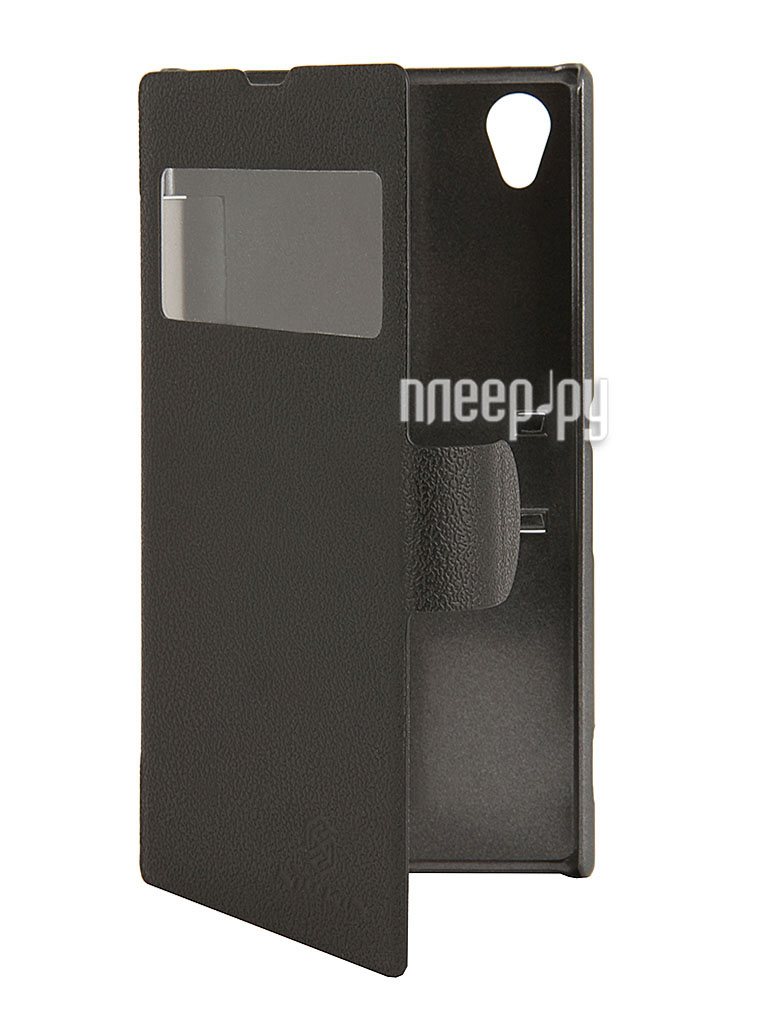 Аксессуар Чехол Sony Xperia Z1 L39h Nillkin Fresh Series Case Black  Pleer.ru  1198.000