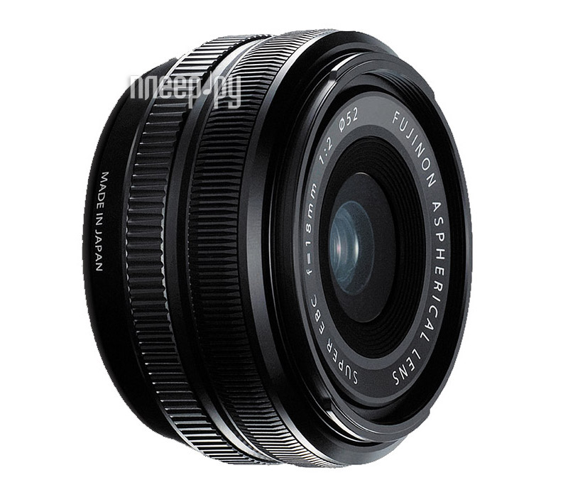 Объектив Fujifilm XF 18mm f/2 R X-Mount  Pleer.ru  20288.000