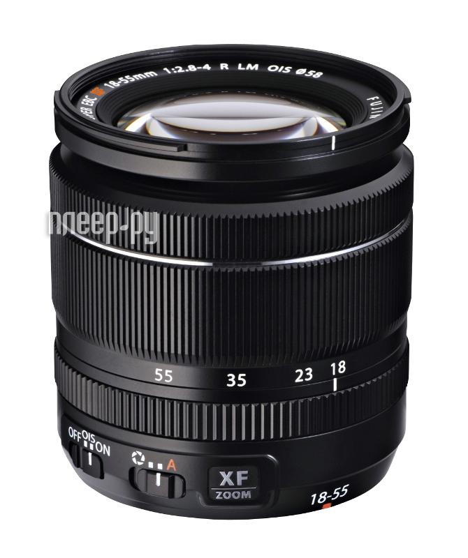 Объектив Fujifilm XF 18-55mm F2.8-4 R LM OIS  Pleer.ru  29651.000