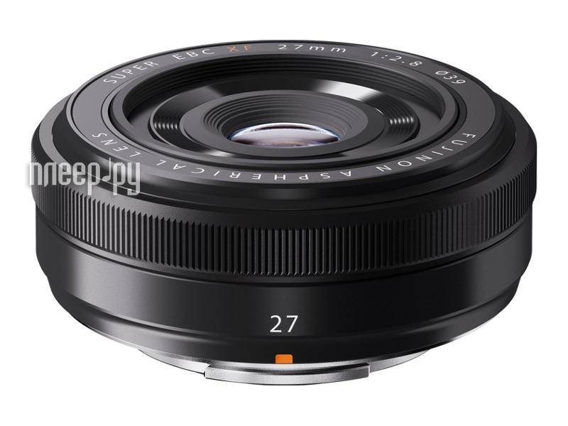 Объектив FujiFilm Fujinon XF 27 mm F/2.8* Black  Pleer.ru  17017.000