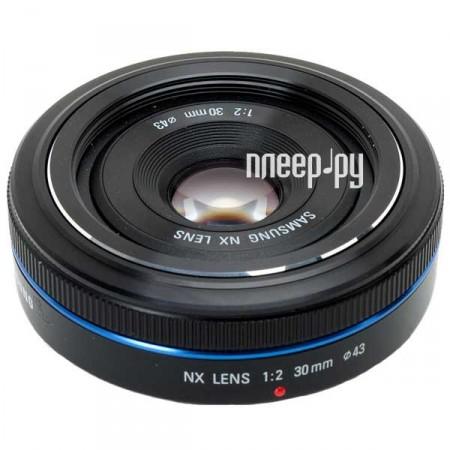 Объектив Samsung NX 30 mm F/2 EX-S30NB*  Pleer.ru  7644.000