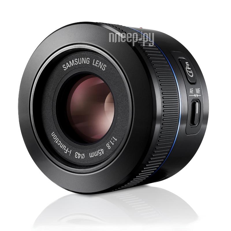 Объектив Samsung NX 45 mm F/1.8 EX-S45ANB*  Pleer.ru  7569.000