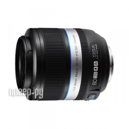 Объектив Samsung NX 60 mm F/2.8 Macro ED OIS SSA M60SB*  Pleer.ru  14727.000