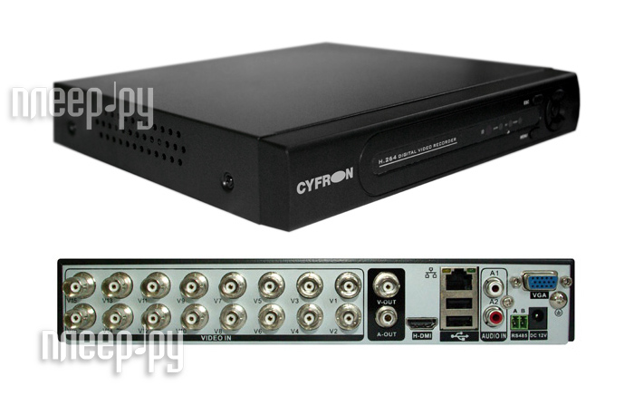 Видеорегистратор Cyfron DV1660D  Pleer.ru  7080.000