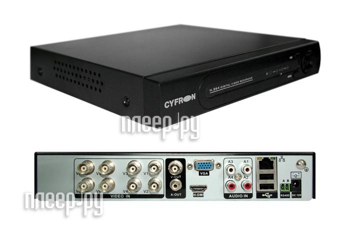 Видеорегистратор Cyfron DV862D  Pleer.ru  6399.000