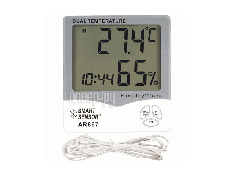 Гигрометр Smartsensor AR867  Pleer.ru  661.000