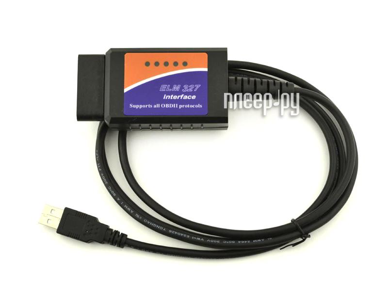 Автосканер OBDII Quantoom ELM 327 USB