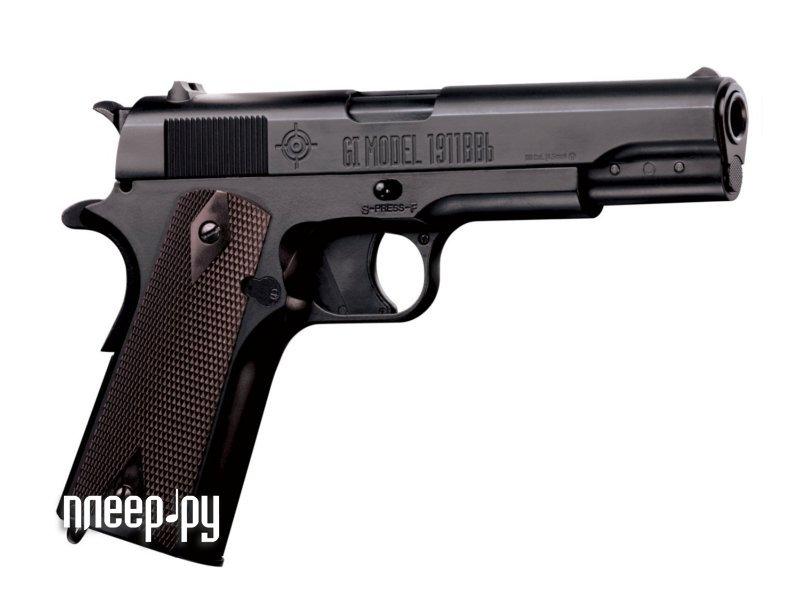 Пистолет Crosman 1911BBb Blowback 40021