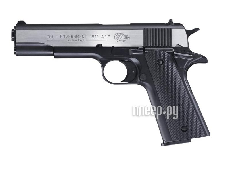 Пистолет Umarex Colt Government 1911 A1 Dark Ops 417.00.42  Pleer.ru  9432.000