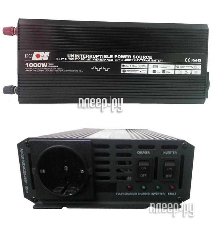 Автоинвертор DC Power DS-UPS1000/12 1000W (1000Вт)  Pleer.ru  5310.000