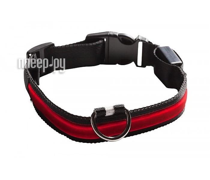 Ошейник светодиодный NumAxes Eyenimal XL Red  Pleer.ru  551.000