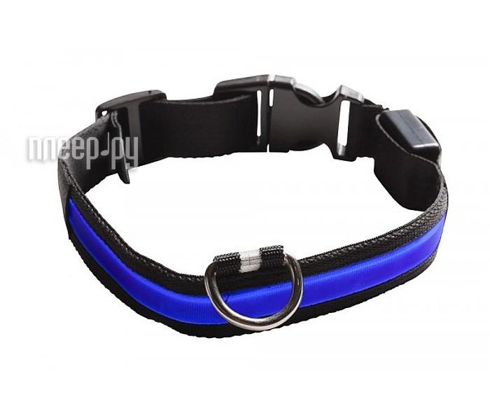 Ошейник светодиодный NumAxes Eyenimal XL Blue  Pleer.ru  551.000