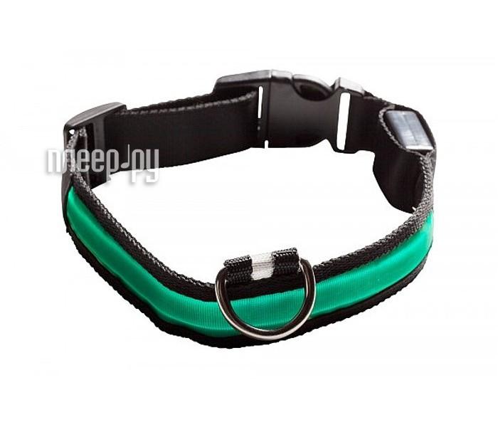 Ошейник светодиодный NumAxes Eyenimal XL Green  Pleer.ru  551.000