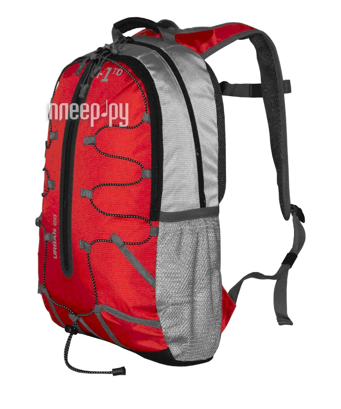 Рюкзак +1 TO Урбан 28 Red-Grey  Pleer.ru  1190.000