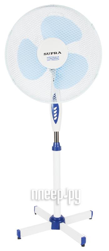 Вентилятор SUPRA VS-1614R White-Blue