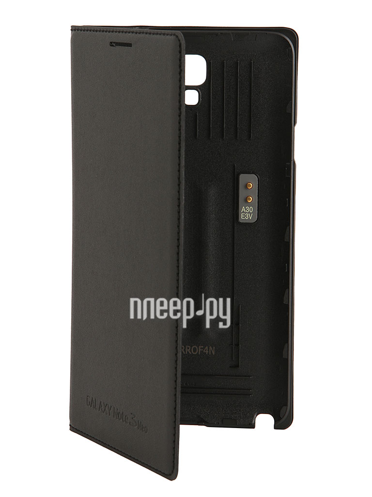Аксессуар Чехол Samsung N7505 Galaxy Note 3 Neo Flip Wallet EF-WN750BBEGRU Black  Pleer.ru  959.000