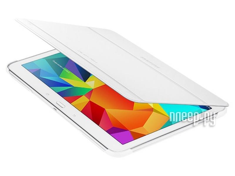Аксессуар Чехол Samsung SM-T530 / SM-T531 Galaxy Tab 4 10.1 EF-BT530BWEGRU White  Pleer.ru  2013.000