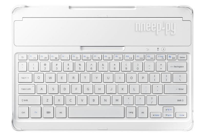 Аксессуар Samsung Galaxy Note Pro 12.2 P9000 / P9050 EE-CP905RWEGRU White - клавиатура  Pleer.ru  3503.000