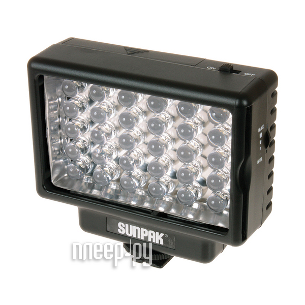 Осветитель Sunpak LED 30 Video Light  Pleer.ru  1260.000