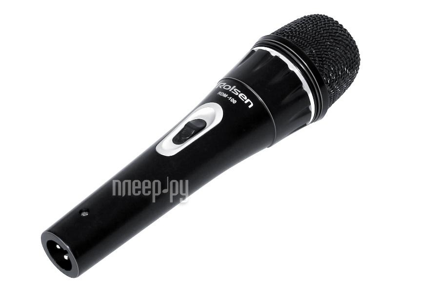 Микрофон Rolsen RDM-100 Black  Pleer.ru  135.000