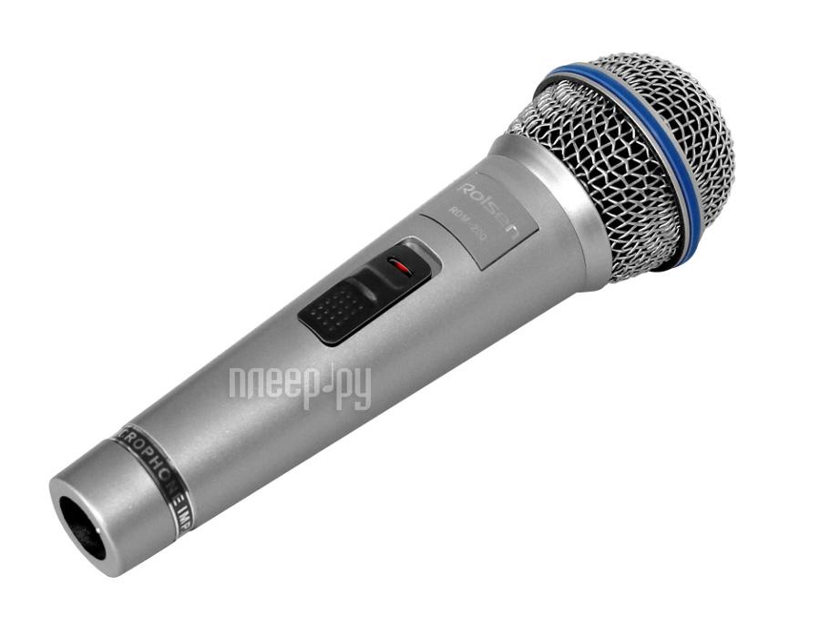 Микрофон Rolsen RDM-200S Silver  Pleer.ru  227.000