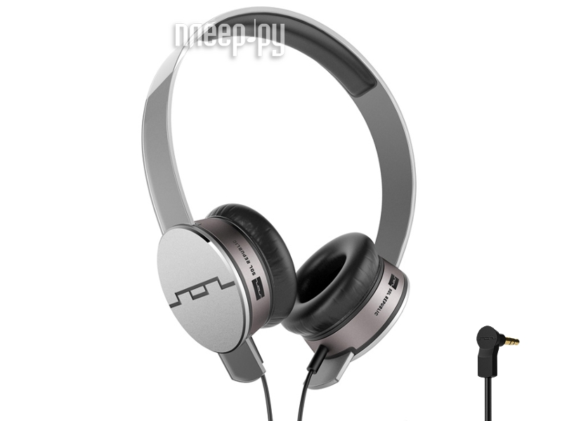 Наушники SOL REPUBLIC Tracks HD MFI Grey 1241-04  Pleer.ru  4960.000