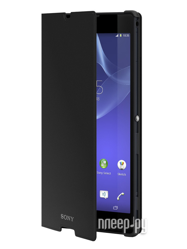 Аксессуар Чехол Sony Xperia T2 Ultra SCR14 Black  Pleer.ru  1569.000
