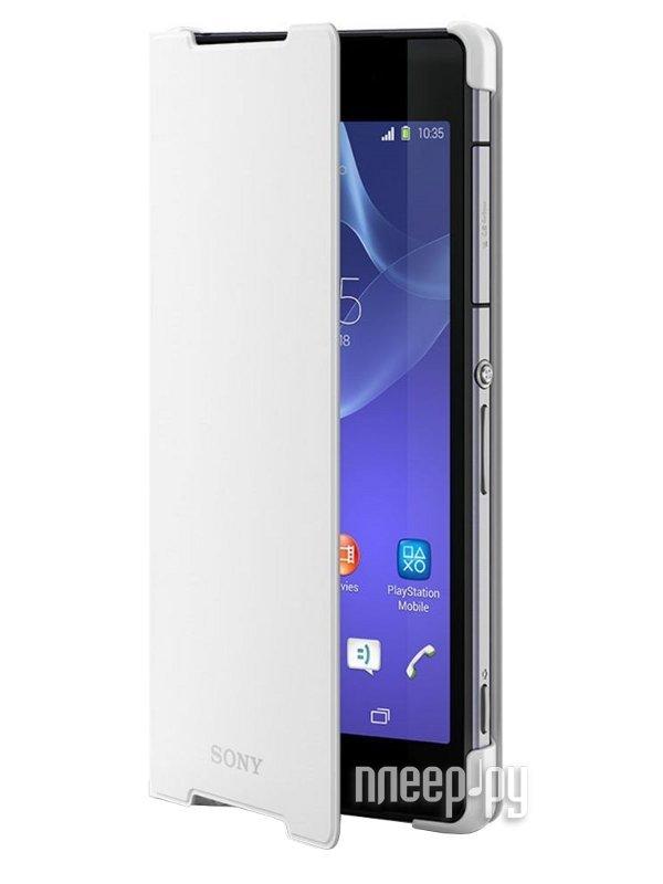 Аксессуар Чехол Sony Xperia T2 Ultra SCR14 White  Pleer.ru  1569.000