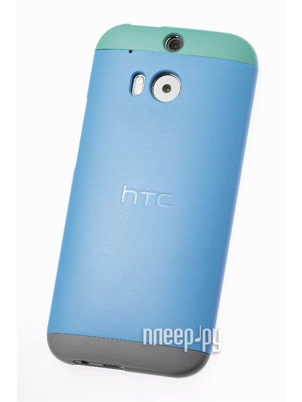 Аксессуар Чехол HTC One M8 Double Dip Hard Shell HC C940 Blue-Green-Grey  Pleer.ru  1289.000