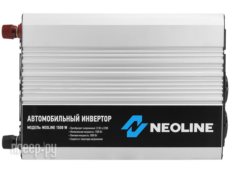 Автоинвертор Neoline 1500W (1500Вт)  Pleer.ru  4689.000