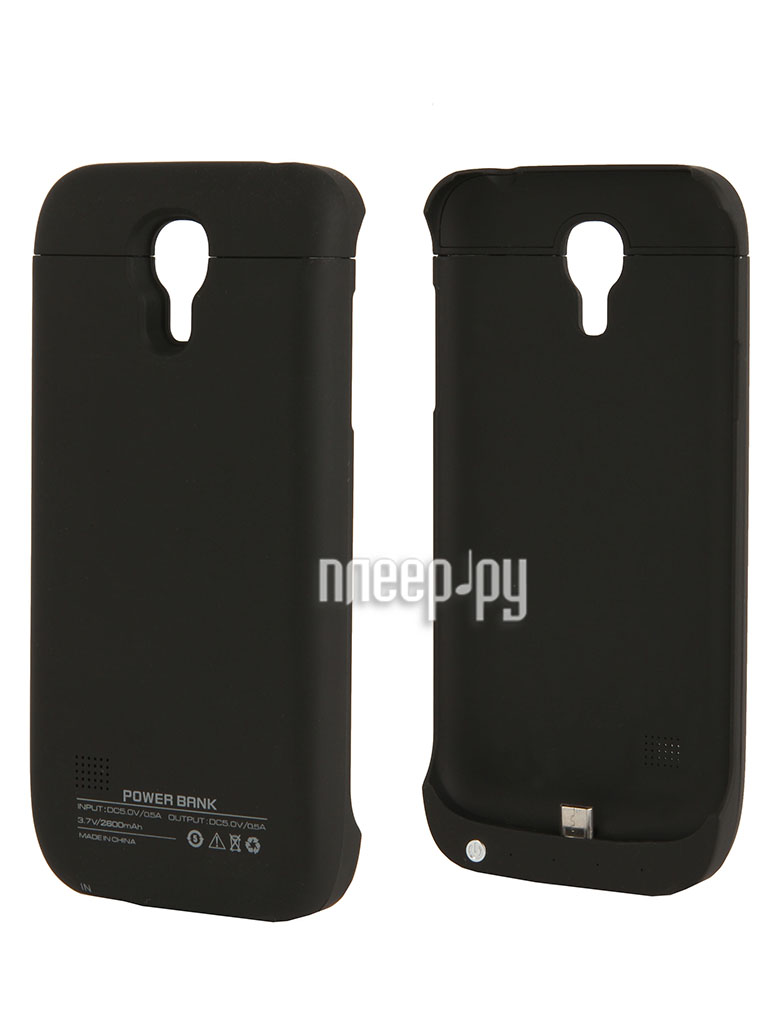 Аксессуар Чехол-аккумулятор Samsung GT-i9192 Galaxy S4 mini Duos Palmexx 2600mAh Black PX/BCASE SAM S4MINI BLACK  Pleer.ru  1499.000