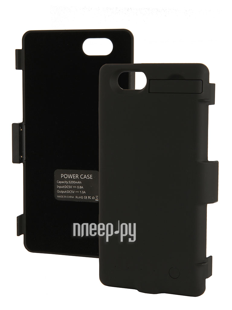 Аксессуар Чехол-аккумулятор Sony Xperia Z1 Compact Palmexx 3200mAh Black PX/BCASE SON Z1 COM BLACK  Pleer.ru  1650.000