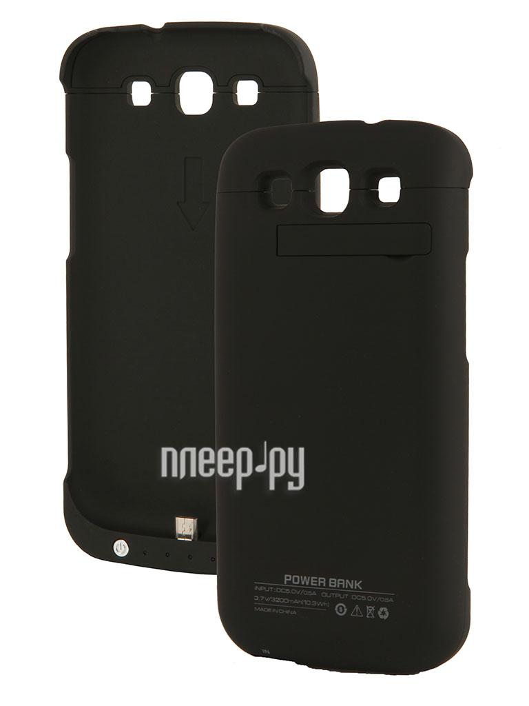Аксессуар Чехол-аккумулятор Samsung GT-i9300 Galaxy S III Palmexx 3200 mAh Black PX/SAM 9300 EXT-BAT BLACK  Pleer.ru  1588.000