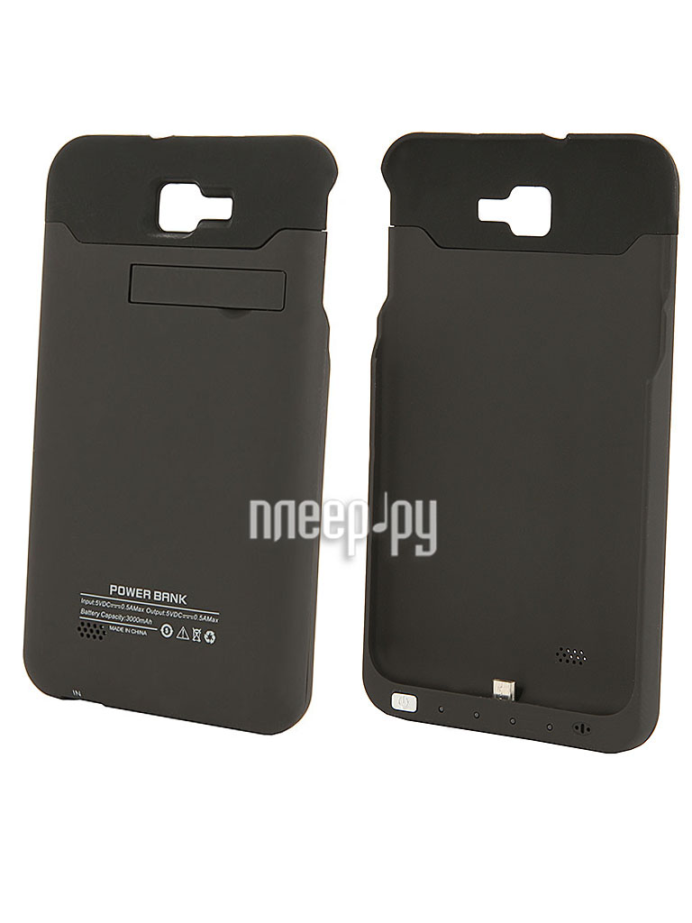 Аксессуар Чехол-аккумулятор Samsung GT-N7000 Galaxy Note Palmexx 3000mAh Black PX/SAM N7000 EXTBAT BLACK  Pleer.ru  1588.000
