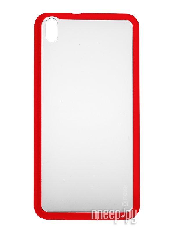 Аксессуар Чехол HTC Desire 816 NEXX Zero поликарбонат Red MB-ZR-500-RD  Pleer.ru  1040.000