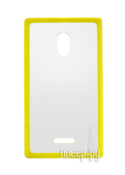 Аксессуар Чехол Nokia XL NEXX Zero поликарбонат Yellow MB-ZR-602-YL  Pleer.ru  1040.000