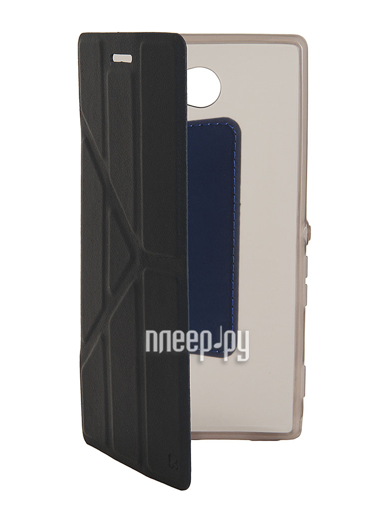 Аксессуар Чехол Sony Xperia M2 NEXX Smarts полиуретан Blue MB-ST-301-DB  Pleer.ru  1200.000