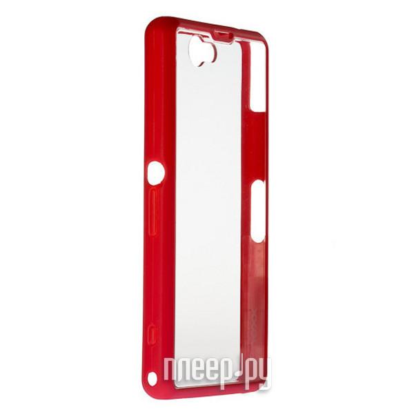 Аксессуар Чехол Sony Xperia Z1 Compact NEXX Zero поликарбонат Red MB-ZR-300-RD  Pleer.ru  1040.000