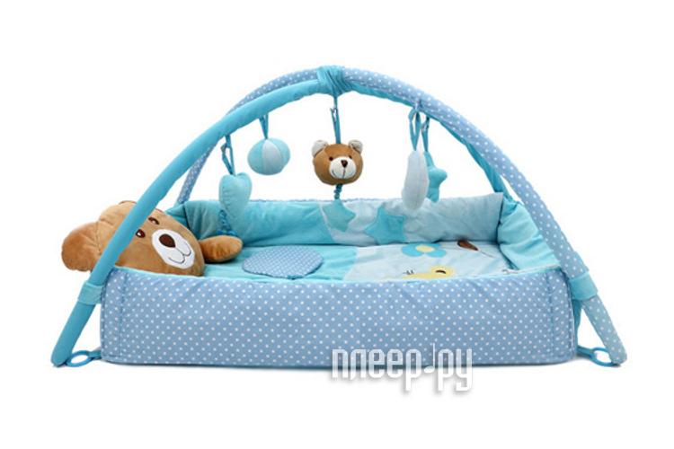 Развивающий коврик Felice Плюшевый мишка 04FS Blue  Pleer.ru  1401.000
